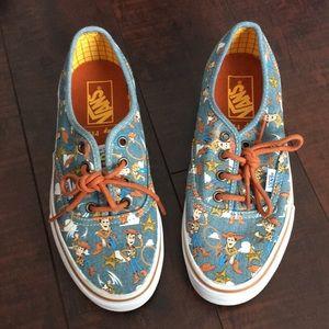 Vans Disney Toy Story Woody Shoes